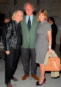 Liz Smith, Graydon Carter and Anna Carter at the Lighthouse International's Henry A. Grunwald Luncheon and Awards.