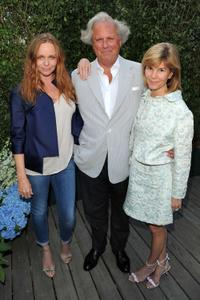 Stella McCartney, Graydon Carter and Anna Carter at the Stella McCartney - Spring 2011 Presentation.