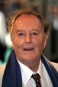 Robert Hardy at the after party of the London premiere of