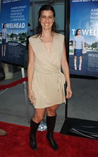 Iris Bahr at the premiere of