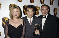 Susannah Harker, Director Joe Wright and Russell Allen at the British Academy Television Craft Awards.