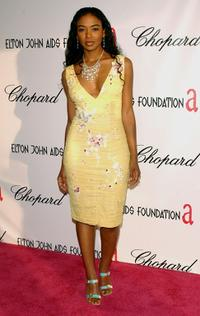 Ananda Lewis at the 13th Annual Elton John Aids Foundation Academy Awards viewing party.
