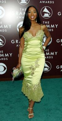 Ananda Lewis at the 47th Annual Grammy Awards.