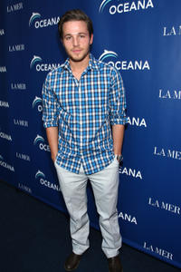 Shawn Pyfrom at the World Oceans Day Celebration in California.