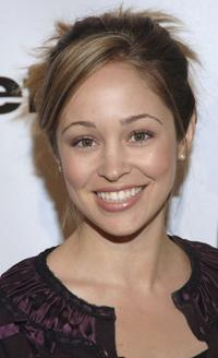 Autumn Reeser at the opening celebration gala of the newly renovated Geffen Playhouse.