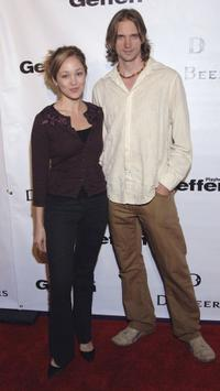 Autumn Reeser and Jesse Warren at the opening celebration gala of the newly renovated Geffen Playhouse.
