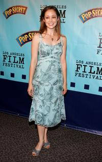 Autumn Reeser at the premiere of
