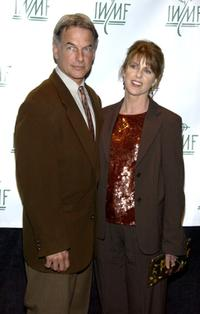 Mark Harmon and Pam Dawber at the 7th Annual Courage in Journalism Awards.