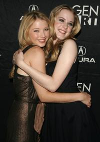Elisabeth Harnois and Evan Rachel Wood at the premiere of