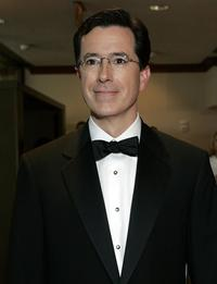 Stephen Colbert at the White House Correspondents' Dinner.