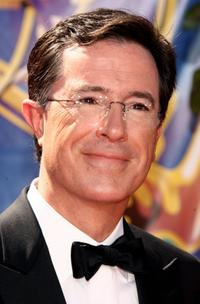 Stephen Colbert at the 58th Annual Primetime Emmy Awards.