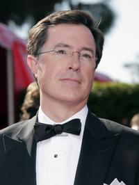 Stephen Colbert at the 59th Annual Primetime Emmy Awards.