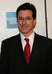 Stephen Colbert at the screening of