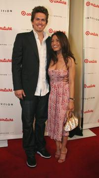 Steve Howey and Guest at the Intuition party of the launch of