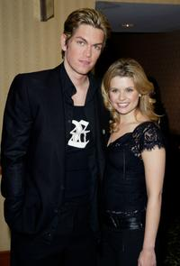 Steve Howey and JoAnna Garcia at the