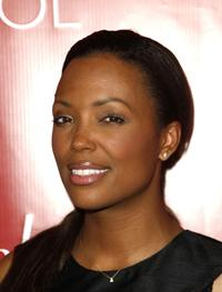 Aisha Tyler at the Fredericks Of Hollywood Spring 2008 Collection debut.