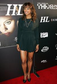 Aisha Tyler at the Hollywood Life magazines 10th Annual Young Hollywood Awards.