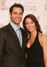 Victor Webster and his wife Amber at the 44th Monte-Carlo Television Festival.