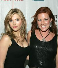 Katheryn Winnick and Elisa Donovan at the premiere of