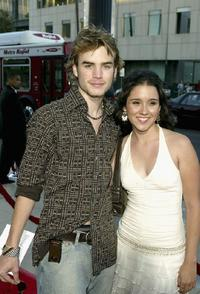 David Gallagher and Shannon Marie Woodward at the Los Angeles premiere of