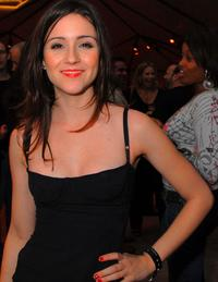 Shannon Marie Woodward at the after party of the premiere of