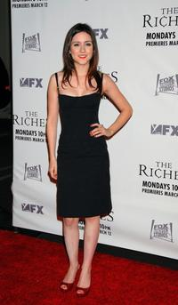 Shannon Marie Woodward at the premiere of
