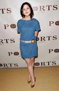 Shannon Marie Woodward at the Ports 1961 Los Angeles store opening.