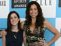 Shannon Marie Woodward and Minnie Driver at the 22nd Annual Film Independent Spirit Awards.