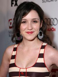 Shannon Marie Woodward at the 2nd season premiere of