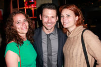Sarah Little, Blayne Weaver and Kristina Klebe at the Los Angeles premiere of