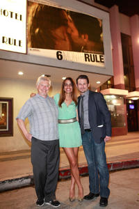 Dave Foley, Natalie Morales and Blayne Weaver at the Los Angeles premiere of