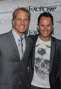 Patrick Fabian and Greg Ellis at the California premiere of