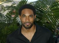 Jason Winston George at the UPN's TCA Party.