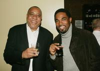 Barry Shabaka Henley and Jason Winston George at the