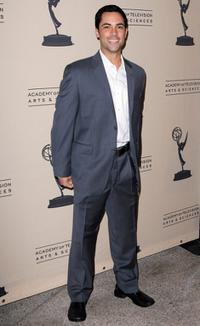 Daniel Pino at the Academy of Television Arts and Sciences presentation of Hispanics and Television- In Transition.