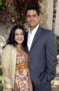 Lilly and Daniel Pino at the Rape Foundation's Annual Brunch.