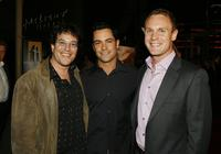 Director Michael Mayer, Daniel Pino and Rodney Ferrell at the Hollywood Film Festival's premiere of