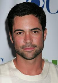 Daniel Pino at the CW/CBS/Showtime/CBS Television TCA party.