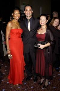 Garcelle Beauvais, Daniel Pino and his Wife at the 7th Annual Costume Designers Guild Awards VIP Reception.