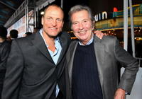 Woody Harrelson and Bob Shaye at the New Line premiere of