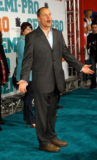 Woody Harrelson at the New Line premiere of
