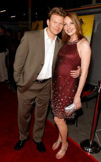 Kevin Hench and Heather Juergensen at the premiere of