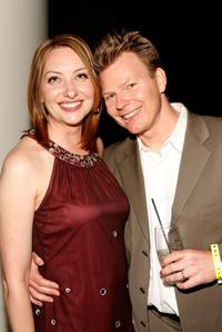 Heather Juergensen and Kevin Hench at the premiere of