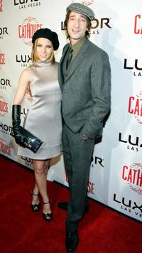 Elsa Pataky and Adrien Brody at the grand opening of the CatHouse.