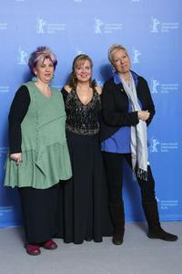 Kathleen Cieplik, Gabriela Maria Schmeide and director Doris Doerrie at the 60th Berlin International Film Festival.