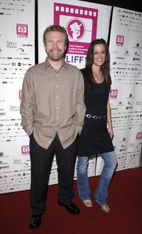 Steve Wilcox and Emily Dean at the Los Angeles Latin International Film Festival (LALIFF) closing night gala.