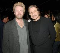 Steve Wilcox and James Olmos at the after party of the premiere of