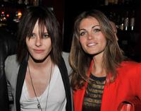 Katherine Moennig and Kate French at the Showtime's farewell party of