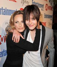 Marlee Matlin and Katherine Moennig at the Showtime's farewell party of