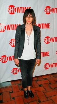 Katherine Moennig at the CBS and Showtime Network's Winter Television Critics Association Party.